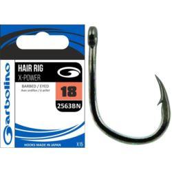 Garbolino haczyki Hair Rig X-Power 2563BN Nr 8