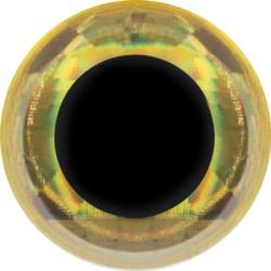 FFGene oczy Soft 3d Eyes 20szt. 7mm Prizm Gold