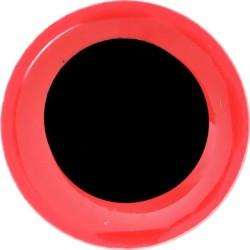 FFGene oczy Soft 3d Eyes 20szt. 6mm Hot Red