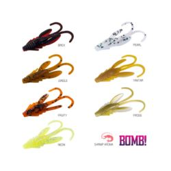 Delphin BOMB! przynęta Nympha Nimfa 2,5cm Yantar